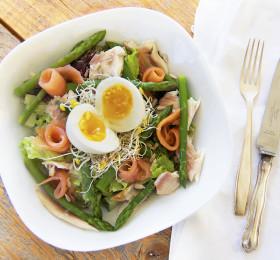 salade vissoorten
